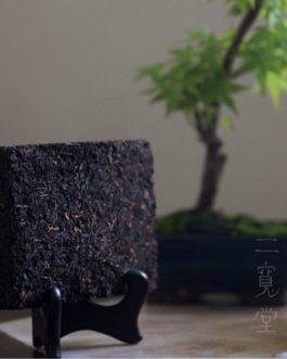 2000年生熟普洱茶磚