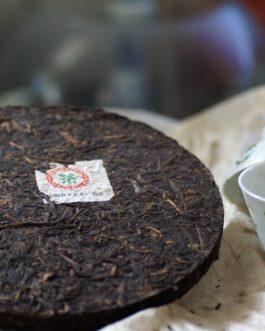 2003年繁體字鐵餅普洱生茶