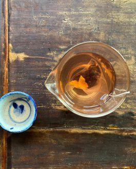 薑黃洛神花茶