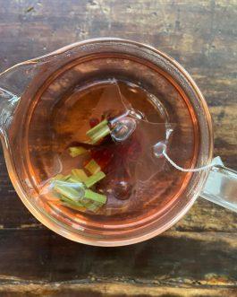 香茅洛神花茶